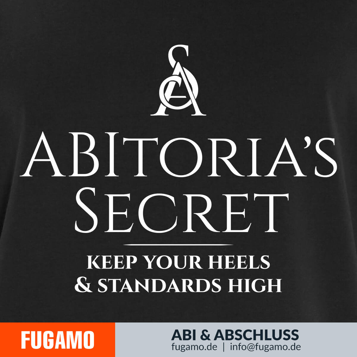 ABItoria's Secret - 01 - Keep your heels and standards high